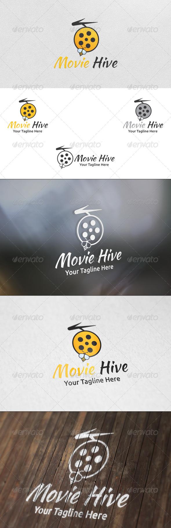 Movie Hive - Logo Template