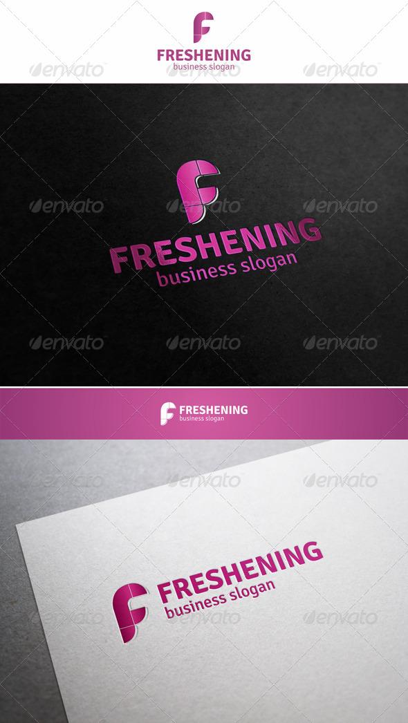 Freshening - F Logo Letter