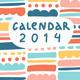 Calendar 2014 - GraphicRiver Item for Sale