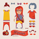 Hipster Handsome Girl with Hipster Accessories - GraphicRiver Item for Sale