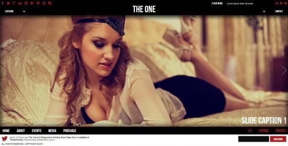 Jeden || Szablon HTML jednej strony