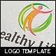 Healthy Natural Life Logo Template - GraphicRiver Item for Sale