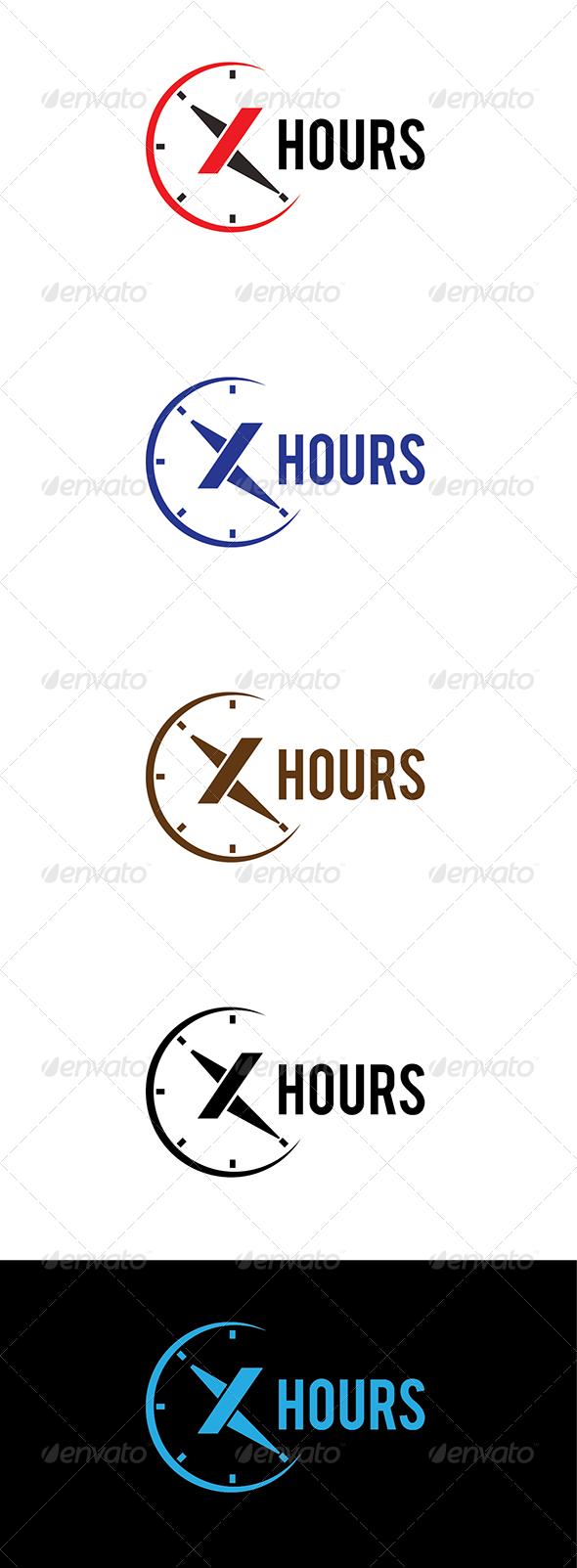 X Hours Logo