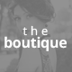 The Boutique One Page Muse Theme - ThemeForest Item for Sale