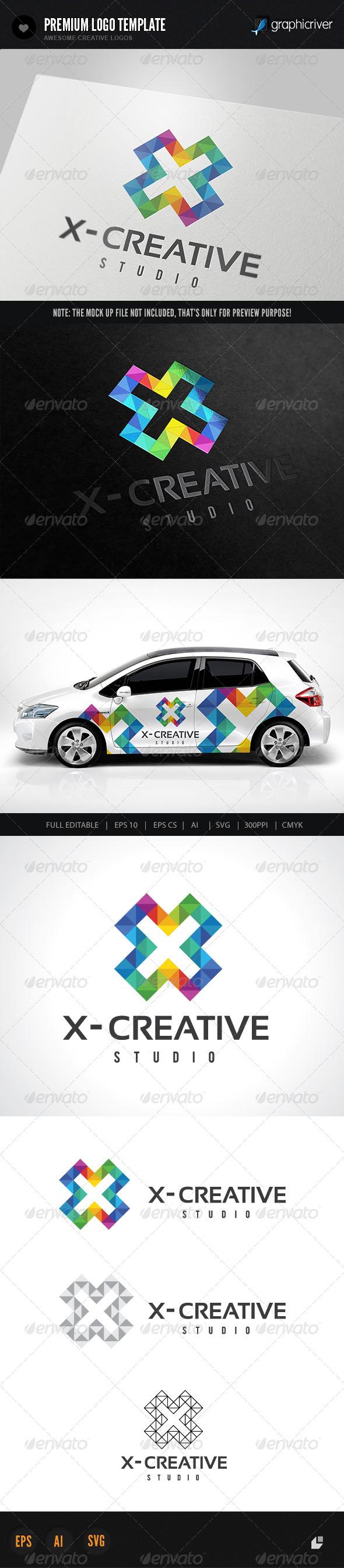 X Creative Logo
