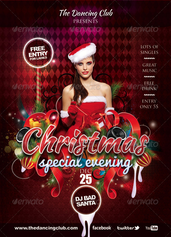 Christmas Dance Graphics Designs Templates From Graphicriver