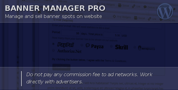 Banner Manager for WordPress Download