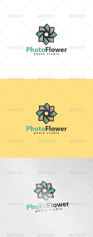Photo Flower Logo