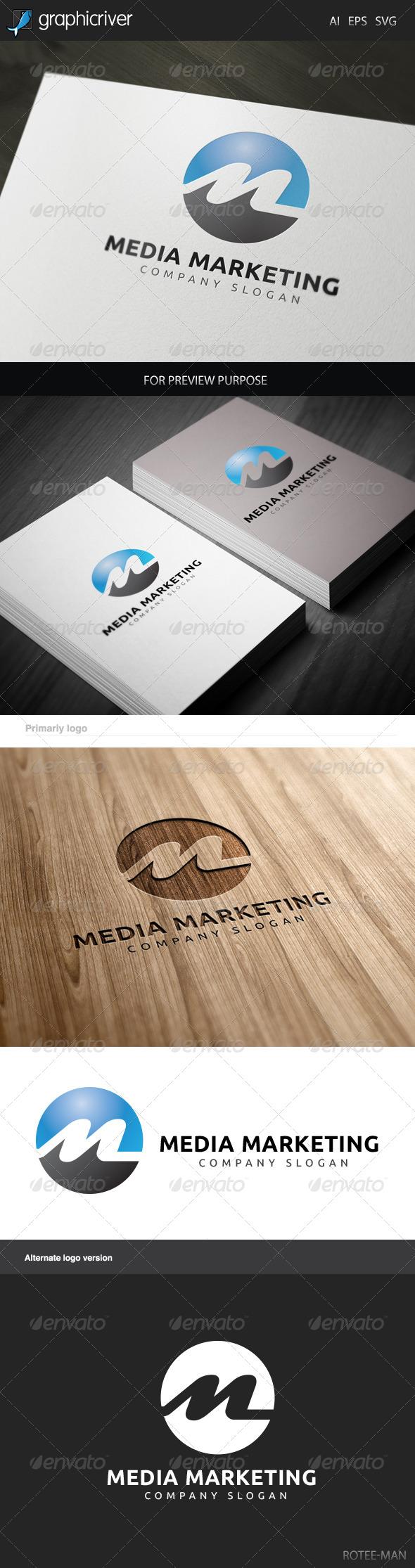 Media Marketing Logo