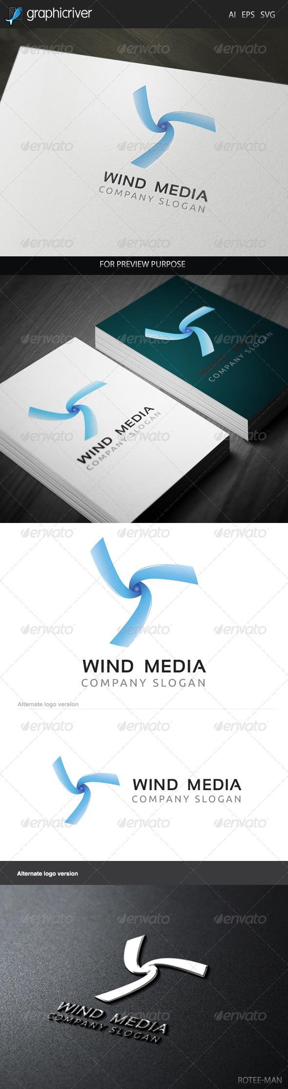 Wind Media 2 Logo