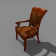 Old Chair - 3DOcean Item for Sale