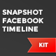 Snapshot Facebook Timeline Kit - GraphicRiver Item for Sale
