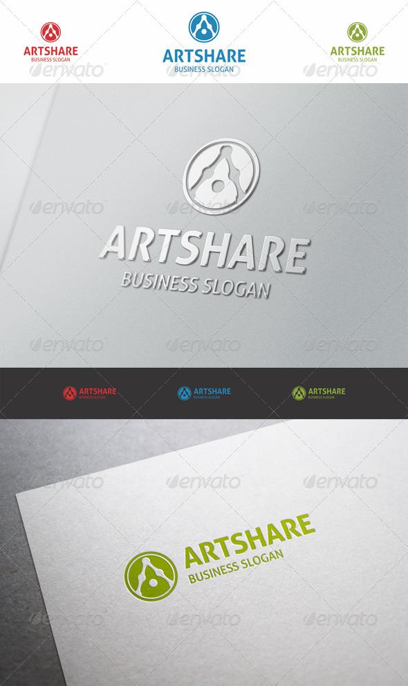 Art Share - Logo A