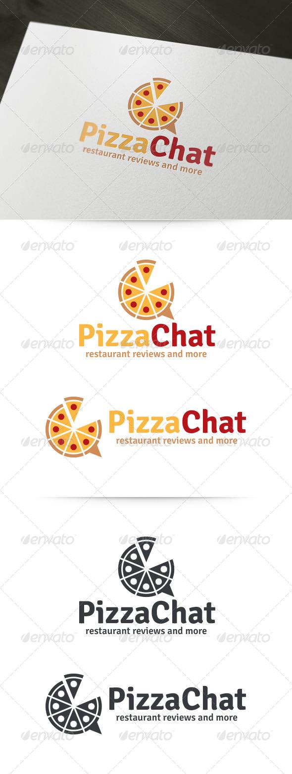 Pizza Chat Logo