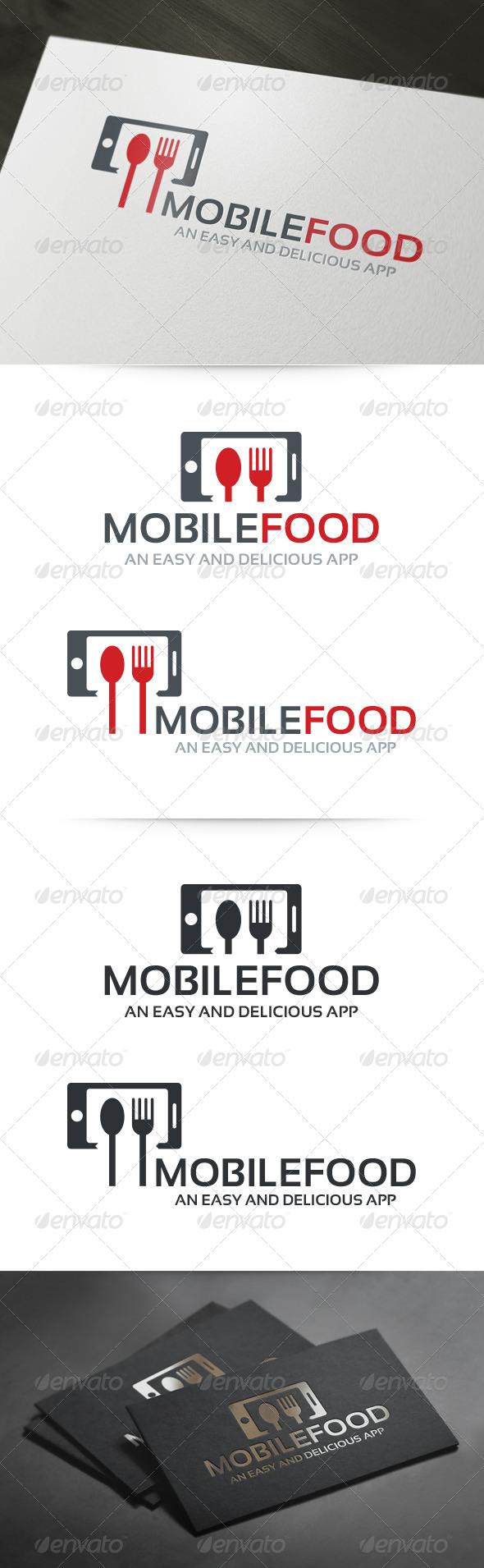 Mobile Food Logo