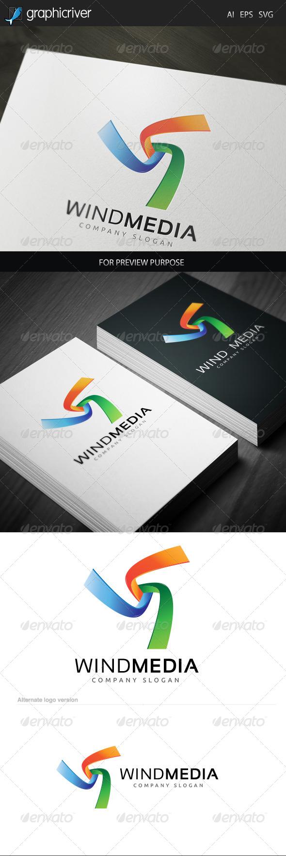 Wind Media 1 Logo