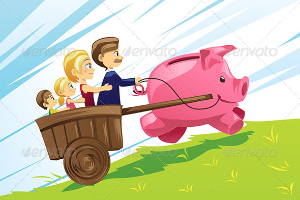 Family Financial Concept