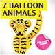 7 Balloon Animals - GraphicRiver Item for Sale