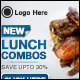 Restaurant Banner Set - GraphicRiver Item for Sale