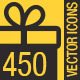 450 Flat Icons Pack - GraphicRiver Item for Sale