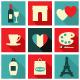 Paris Icons Collection - GraphicRiver Item for Sale