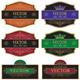 Set vector vintage labels - GraphicRiver Item for Sale