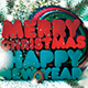 Christmas Flyer / Post Card - GraphicRiver Item for Sale