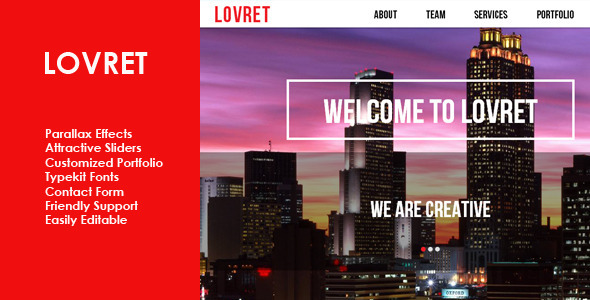 Lovret Multipurpose Muse Theme