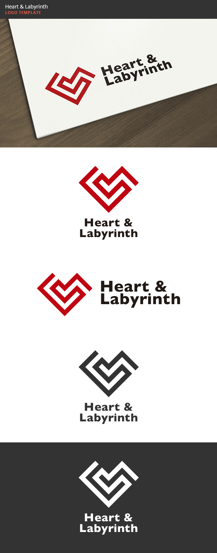 Heart & Labyrinth Logo