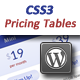 CSS3 Pricing Tables for WordPress - CodeCanyon Item for Sale