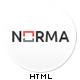 NORMA | Clean & Responsive HTML Theme - ThemeForest Item for Sale