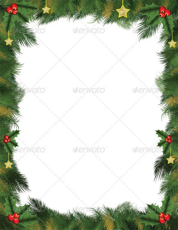 Christmas Leaflet Background.Christmas Flyer Graphics Vectors From Graphicriver
