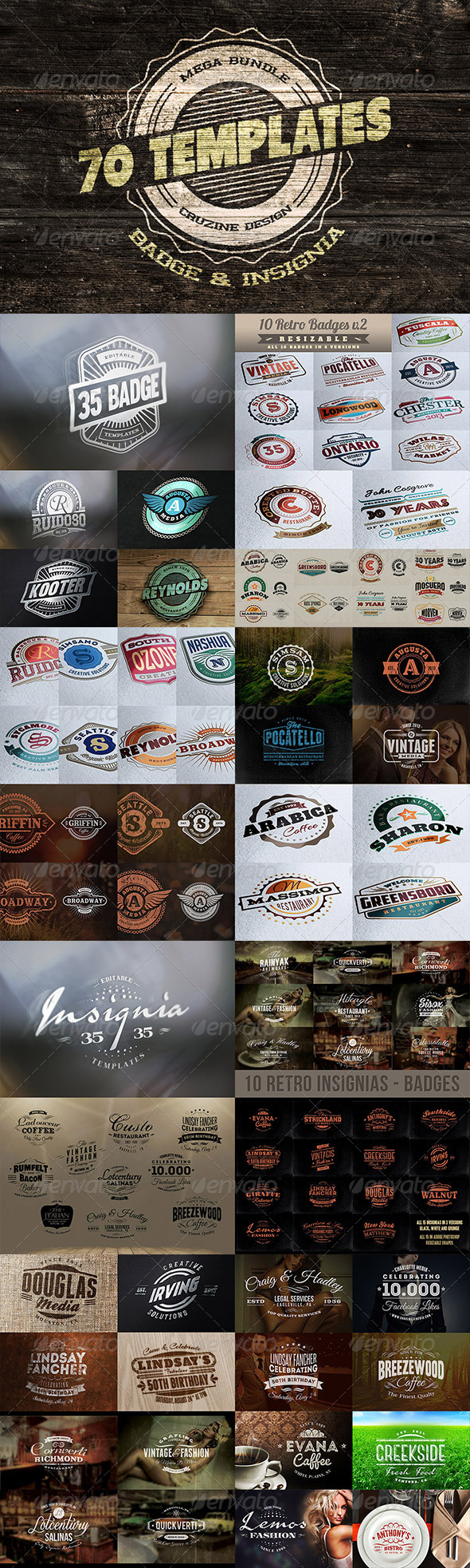 Logo / Badge / Insignia Templates Bundle Free Download #1 free download Logo / Badge / Insignia Templates Bundle Free Download #1 nulled Logo / Badge / Insignia Templates Bundle Free Download #1