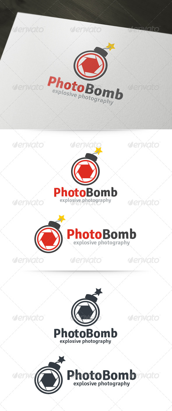 Photo Bomb Logo