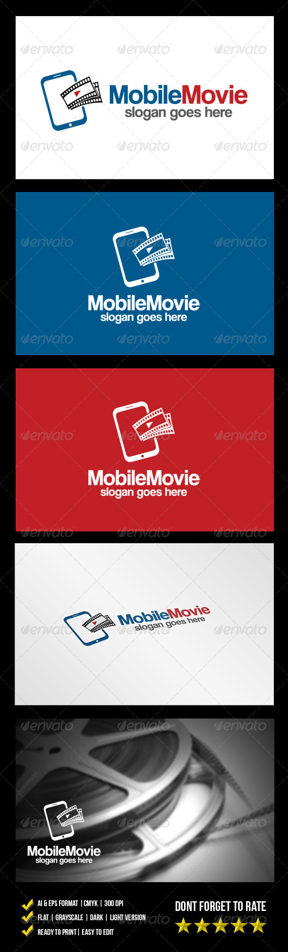 Mobile Movie Logo