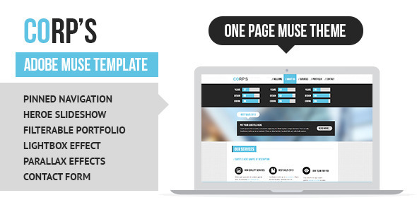 Marketing Adobe Muse Themes & Muse Templates from ThemeForest