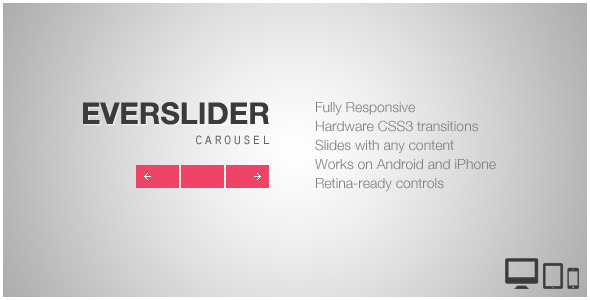 Carousel JavaScript & jQuery Sliders from CodeCanyon