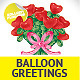 Unique Glossy Balloon Greeting Cards - GraphicRiver Item for Sale