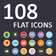 Flat Icons Pack - GraphicRiver Item for Sale
