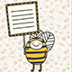 Honey Bee Picket - GraphicRiver Item for Sale