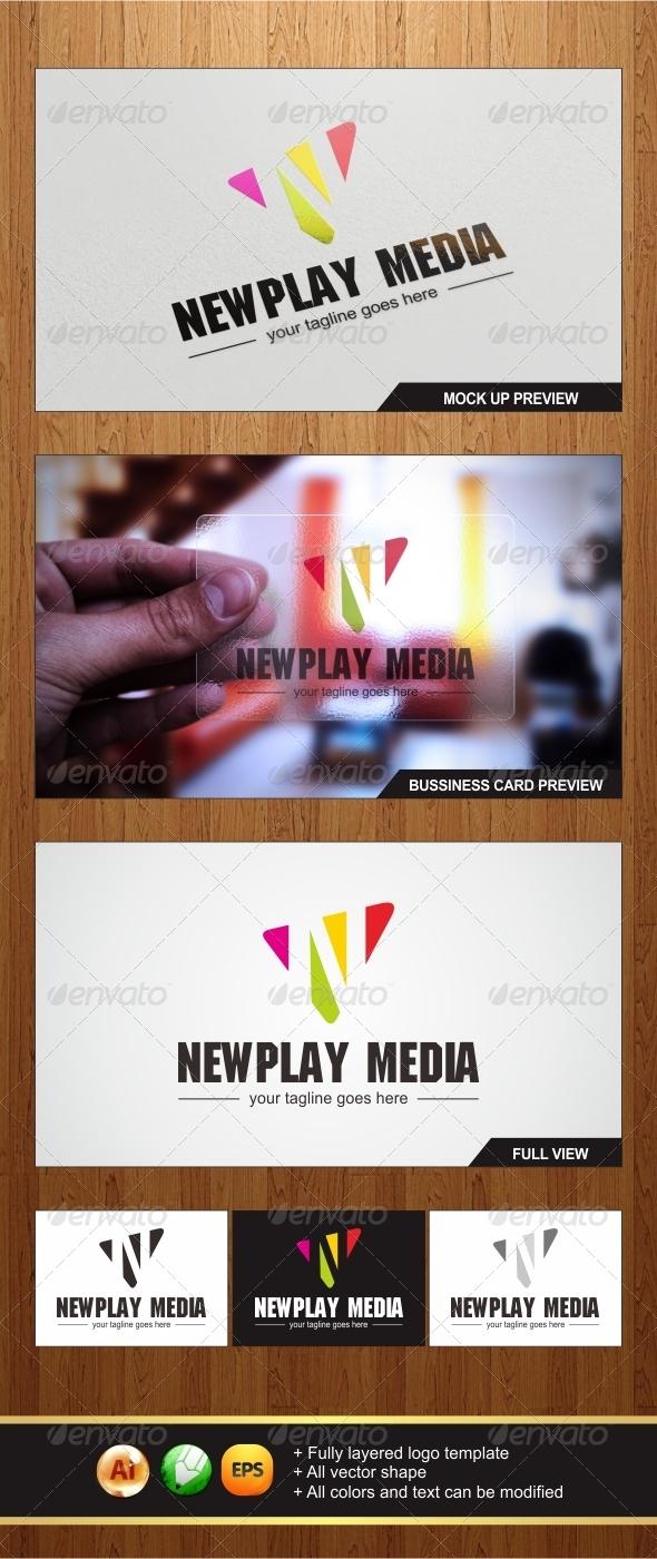 Newplay Media Logo