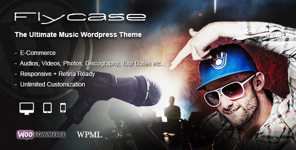 Flycase - Complete Music Solution for WordPress Download