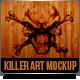 Killer Art Canvas HD ( Mock-Up ) - GraphicRiver Item for Sale