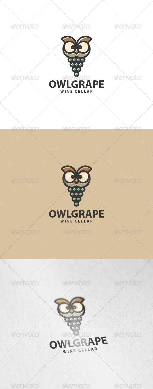 Owl Grape Logo