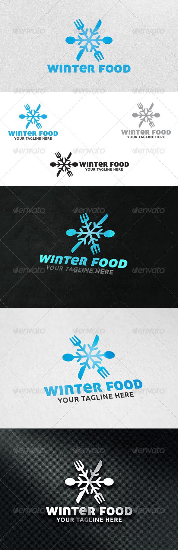 Winter Food V2 - Logo Template