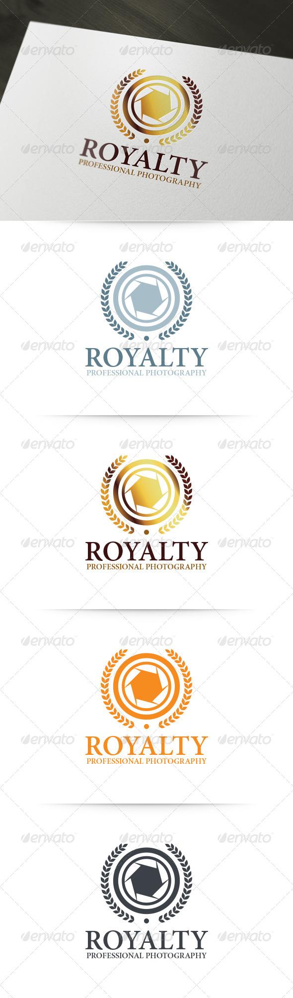Royalty - Photography Logo