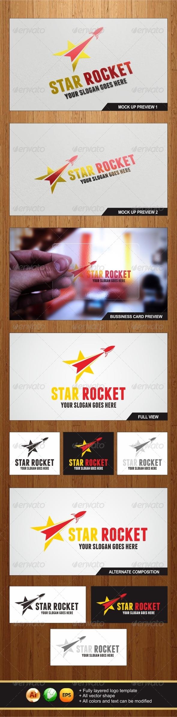 Star Rocket Logo