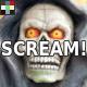 Horror Scream Transition