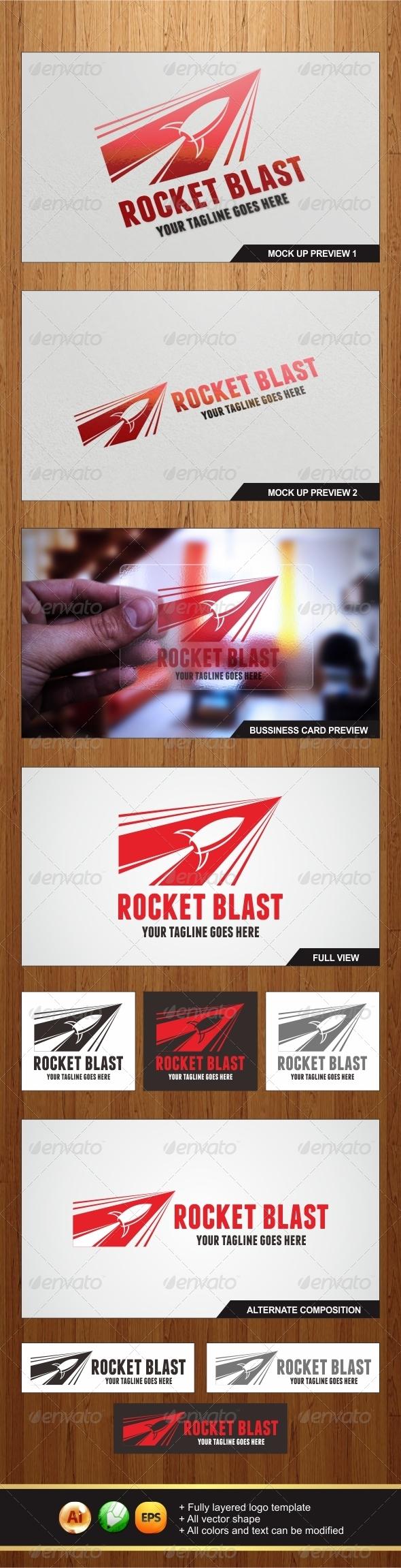 Rocket Blast Logo