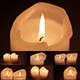 Shiny White Candles (6-in-1) - VideoHive Item for Sale